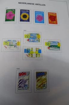 The Netherlands Overseas - Collection including FDC´s in 4 albums