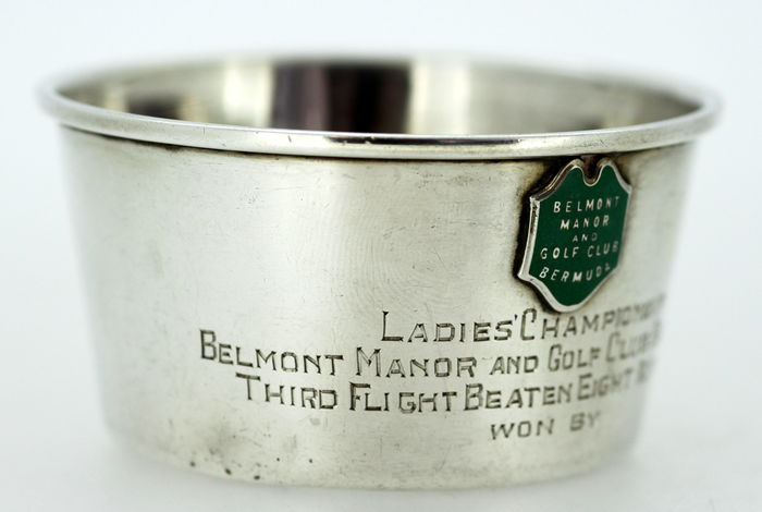 Belmont Manor And Golf Club Bermuda Solid Sterling Silver