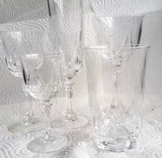 Set of crystall glasses