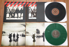 U2- lot of 2 limited edition lp's: How To Dismantle An Atomic Bomb & All That You Can't Leave Behind (on green marbled wax!)