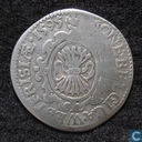 West-Friesland 1/20 leicesterreaal of stoter 1595