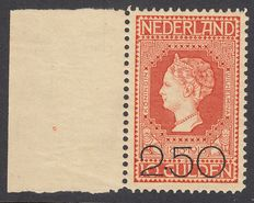 The Netherlands 1920 - Clearance edition with plate flaw - Mast 105 PM, with inspection certificate