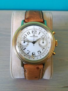 Pryngeps – Rare Chronograph – gold plated – 1980s