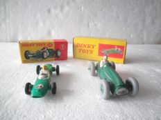 Dinky Toys - Scale 1/43 - Lotus Racing Car - No.241  & Cooper Bristol No.23 G