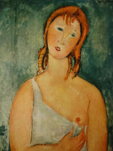 Amedeo Modigliani (after) - Donna