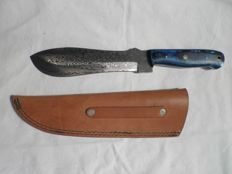 Damascus steel. High quality knife