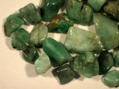Natural Emerald Lot - 260,55 cts (41)