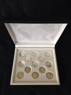 925 Sterling Silver Biblical Wedding Coins - 20 mm diameter.