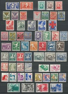 The Netherlands 1923/1936 – Selection between NVPH 134 and 286