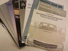 AUDI brochures and advertisements from 1966