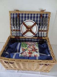 Large and beautiful Picnic case