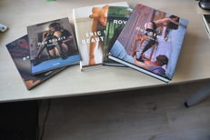 Photography; Lot with 5 photo books by Roy Stuart and Eric Kroll -1997/2008