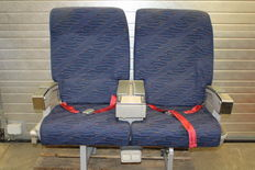 KLM aircraft seats from First Class.