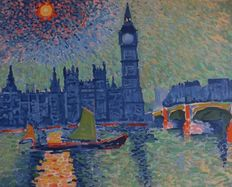 André Derain - Big Ben - Fauves