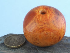 Antique amber bead from the African Trade