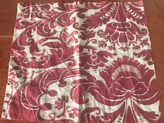 Mariano Fortuny - Four Fabric Fragments Italy  early XX century - from an antique Roman family collection directed related to Fortuny