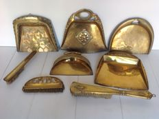 Collection copper dustpans