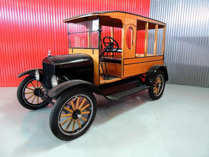 Ford - Model T Canopy - 1923