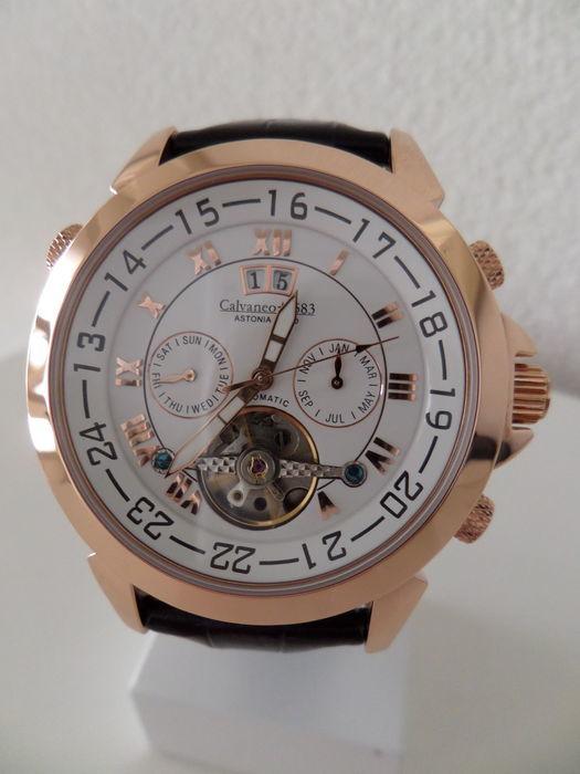 Calvaneo 1583 CM-ASG-07 Astonia Gold – Wristwatch – 2017 – Never worn and in new condition