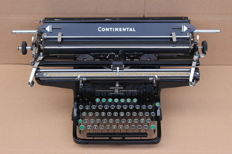 Antique Continental typewrite for large format, Germany, around 1920