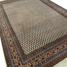 "Mir – 308 x 200 cm – ""Modern oriental rug in natural hues – in very beautiful, almost unused condition"""
