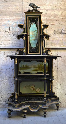 """Etagère in """"Umbertino"""" style - Italy, 1920s"""