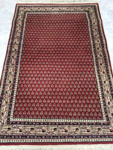 Pretty oriental carpet, Sarough Mir - made at the end of the 20th Century - 120 x 195 cm - from €1