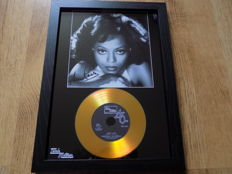 "Diana Ross "" Baby Love "" framed CD."