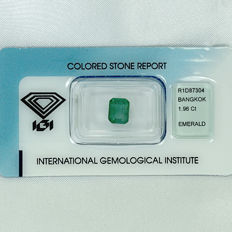 Emerald – 1.96 ct No Reserve Price