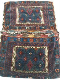"""Original rare Persian """"Sattel"""" = Jaff - for donkeys or horses - Made end of 20th century - 110 x 162 cm - from 1€"""