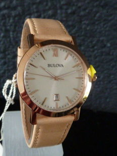 Bulova, Elegant and Stylish – Men's Wristwatch, Never Worn