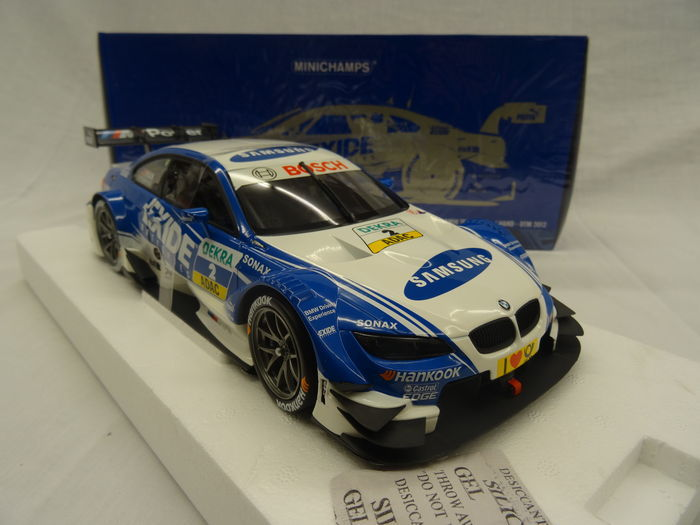 Minichamps - Schaal 1/18 - BMW M3 DTM 2012  - BMW Team RMG - Driver J.Hand - Limited 1002 Pieces