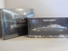 Minichamps - Scale 1/18 - Mercedes-Benz SLS AMG 2010 & Photo book '20 Years Minichamps - Pure Passion'