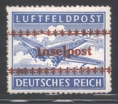 Germany Reich – Feldpost, issued from Crete – Michel catalogue no. 7A / 7B