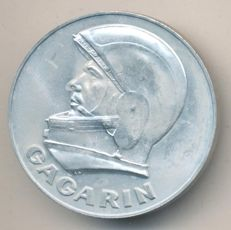 USSR/Russia - Medal 1961 The First Cosmonaut of the Earth Yuri Gagarin