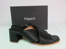 Filippa K – sandals with heel in original box, hardly worn.