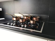 French copper cookware set
