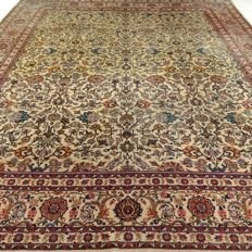 Kashan - 416 x 310 cm - 'Unique copy - Showroom carpet - Impressive oversized Persian carpet - Exclusive eye-catcher in beautiful condition'