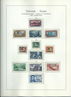 Switzerland, collection Pro Juventute and Pro Patria