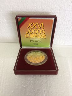 Portugal – 200 Escudos 1996 commemorating the Olympic Games in Atlanta