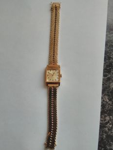 18 kt Omega de Ville women's watch ca. 1940-50