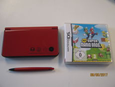 Limited special edition DSi XL Mario edition with game Mario