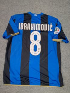 Authentic Inter Milan home shirt 2008/2009 - Ibrahimovic #8 - size M