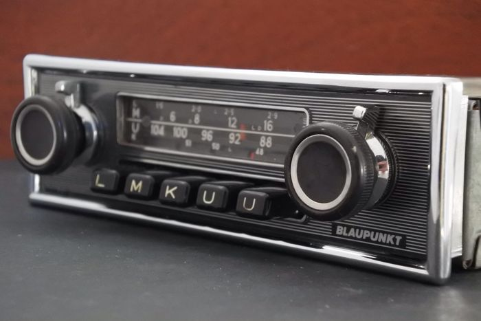 blaupunkt frankfurt stereo classic car radio 1969 catawiki. Black Bedroom Furniture Sets. Home Design Ideas