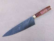 Chef's knife - Damask steel