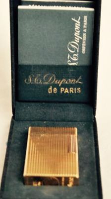 S.T. Gold plated Dupont, 1980s