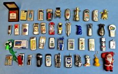 45 lighters from the 1980s/90s