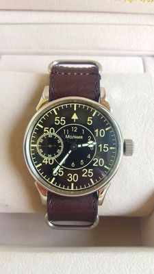 Molnija - Soviet mechanical  men's wristwatch  - never worn