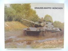 Promotional gift pack of Krauss-Maffei Munich: with 16 plastic models of the most famous tanks around 1970 [958]