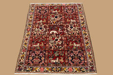 Hand-knotted Persian carpet, Bachtyjar, approx. 155 x 105 cm